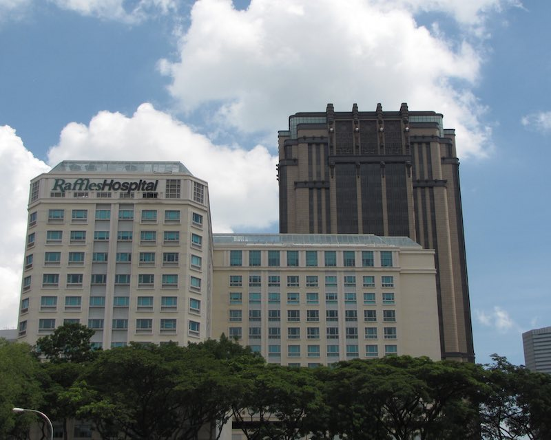 photo of Raffles Hospital in Singapore