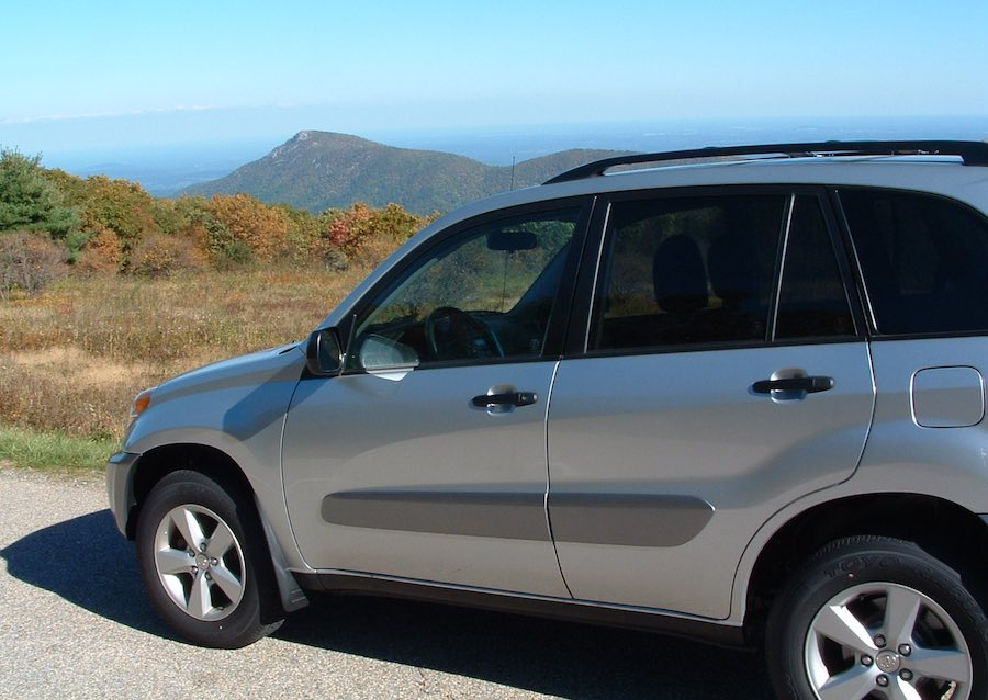 Toyota Rav 4, Skyline Drive, Virginia