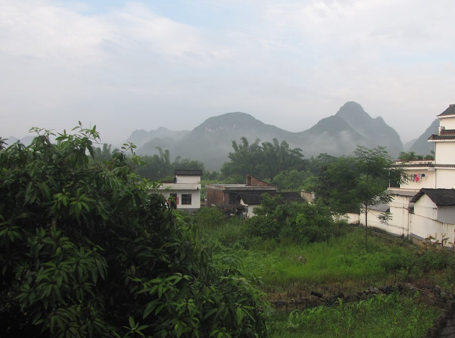view of greenery and hills