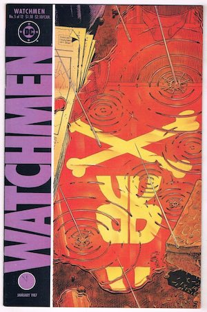 image of Watchmen comic cover