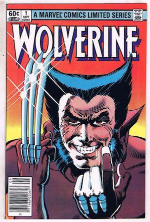 image of Wolverine #1 cover